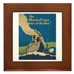 Join the U.S. Marine Corps Framed Tile