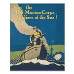Join the U.S. Marine Corps Small Poster
