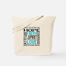 Cervical Cancer Can't Tote Bag