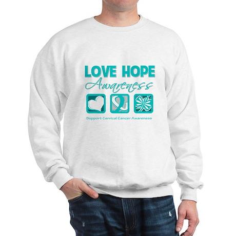 Cervical Cancer LoveHope Sweatshirt