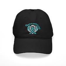 CervicalCancer Believe Baseball Hat