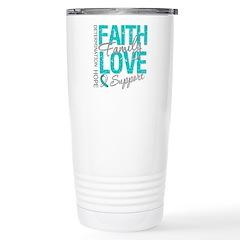 CervicalCancerFaith Travel Mug