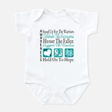 CervicalCancer Advocacy Infant Bodysuit