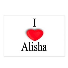 Alisha Postcards (Package of 8)