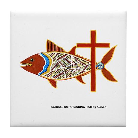 Christian Albacore Tile Coaster