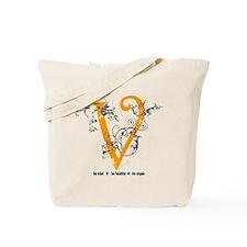 Be vegan Tote Bag