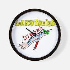 phlebotomist III Wall Clock