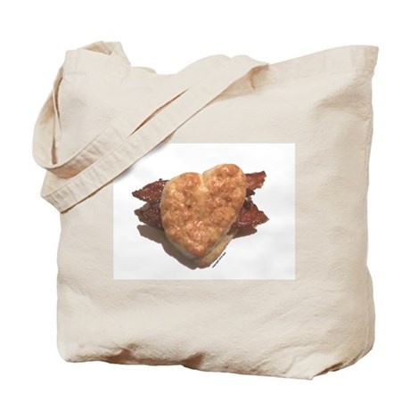 Bacon Biscuit Tote Bag