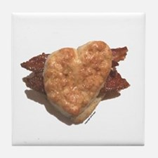 Bacon Biscuit Tile Coaster