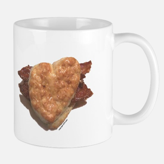 Bacon Biscuit Mug