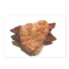Bacon Biscuit Postcards (Package of 8)