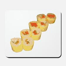 Egg Wrapped Maki Mousepad