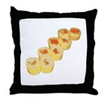 Egg Wrapped Maki Throw Pillow