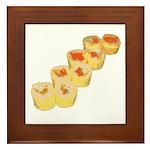 Egg Wrapped Maki Framed Tile