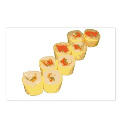Egg Wrapped Maki Postcards (Package of 8)