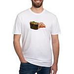 Negi Toro Gunkan Maki and Gar Fitted T-Shirt