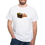 Negi Toro Gunkan Maki and Gar White T-Shirt