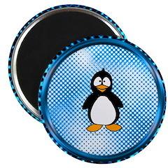 Funky Blue Penguin 2.25