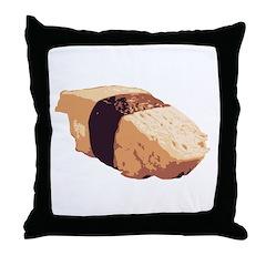 Tamago Ngiri Throw Pillow