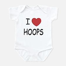 I love hoops Infant Bodysuit