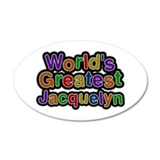 World's Greatest Jacquelyn Wall Decal
