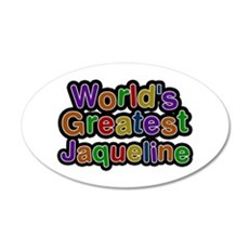 World's Greatest Jaqueline Wall Decal