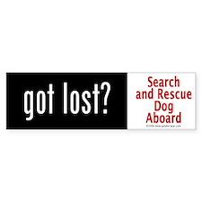 """""""Got Lost?"""" Bumper Bumper Sticker"""