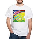 Peacerainbow White T-Shirt