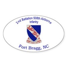 2nd Bn 508th ABN Decal
