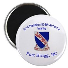 2nd Bn 508th ABN Magnet