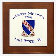 2nd Bn 508th ABN Framed Tile