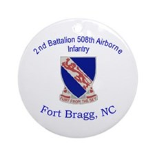 2nd Bn 508th ABN Ornament (Round)
