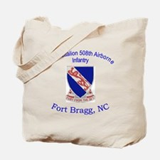 2nd Bn 508th ABN Tote Bag