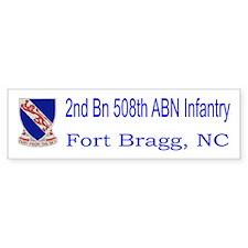 2nd Bn 508th ABN Bumper Sticker