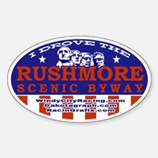 I Drove the Rushmore Scenic Byway sticker