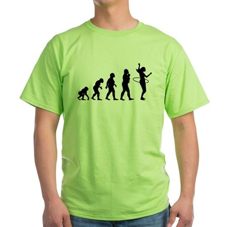 Hula Hoop Green T-Shirt