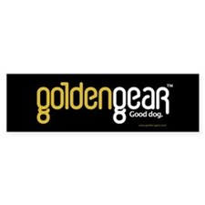 GoldenGear Logo Bumper Bumper Sticker