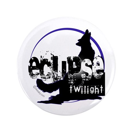 "Eclipse Howling Moon by Twibaby 3.5"" Button ("