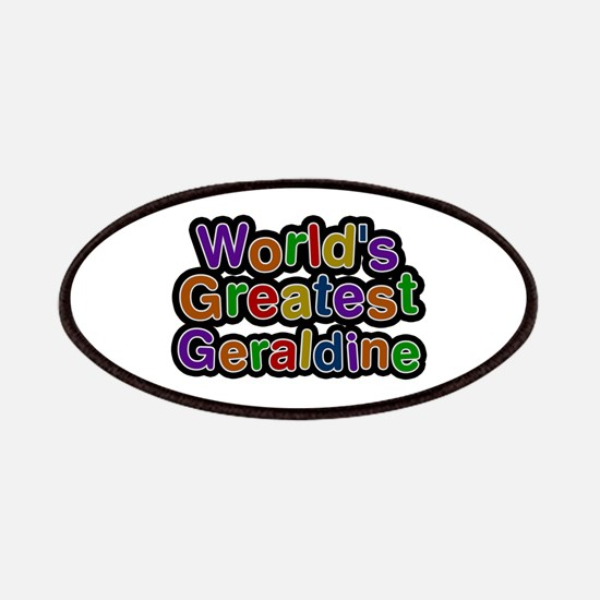 World's Greatest Geraldine Patch