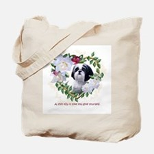 Shih Tzu Heart Love China Tote Bag