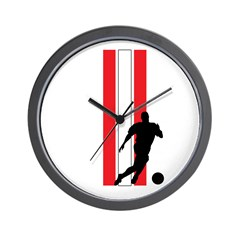 SWITZERLAND FOOTBALL 2 Wall Clock