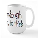 Boys Make Me Laugh Large Mug
