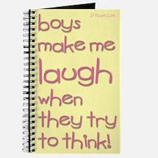 Boys Make Me Laugh Journal