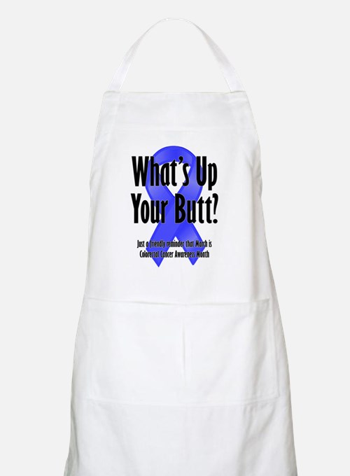 Colorectal Cancer Awareness BBQ Apron