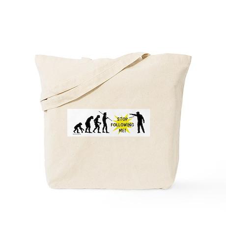 Stop Following! Tote Bag
