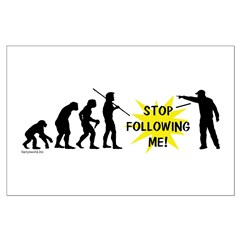 Stop Following! Posters
