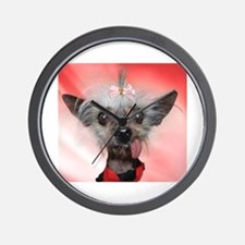 Unique Chinese crested Wall Clock