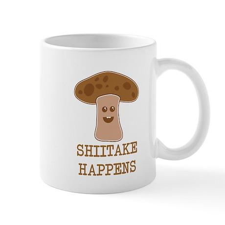 Shiitake Happens Mug