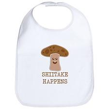 Shiitake Happens Bib
