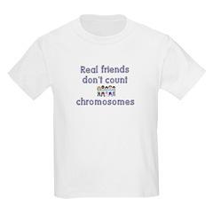 Friends don't count... Kids T-Shirt